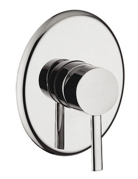 Bella Concealed Manual Shower Valve Chrome - 42090
