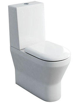 Tall S48 Close Coupled WC With Cistern Lid And Seat
