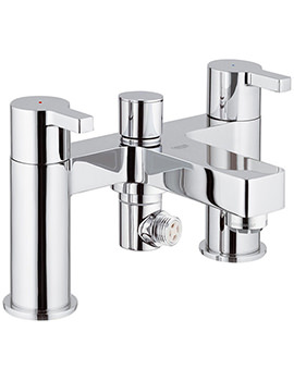 Lineare Half Inch Deck Mounted Bath Shower Mixer Tap - 25113000