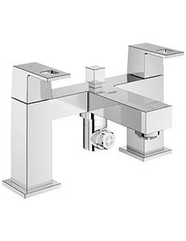 Eurocube Two Handled Bath Shower Mixer - 25137000
