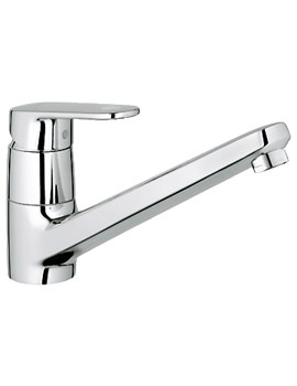 Europlus Chrome Sink Mixer Tap With Low Spout - 32941002