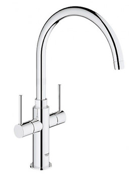 Ambi Cosmopolitan Kitchen Sink Mixer Tap With 2 Handle-30190000