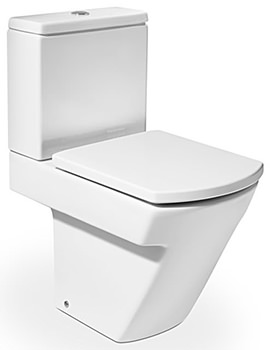 Hall Close Coupled WC Pan With Cistern 595mm - 342627000