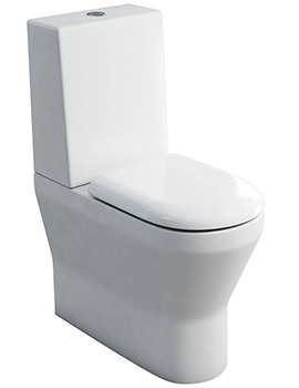 Tall S48 Close Coupled WC With One Piece Cistern