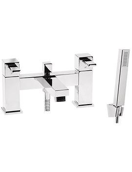 Roper Rhodes Factor Square Deck Mounted Bath Shower Mixer Tap - T134202