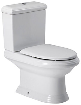 New Classical Close-Coupled WC Pan With Cistern 705mm - 342497000