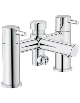 Concetto Deck Mounted Bath Shower Mixer Tap - 25109000