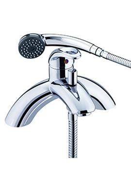 Bristan Java Bath Shower Mixer Tap With Kit - J SLPBSM C