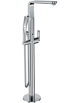 Veris Floorstanding Bath Shower Mixer Half Inch