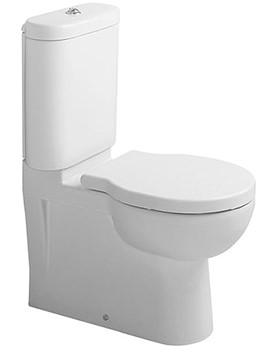 Bathroom Foster 360 x 660mm Close Coupled WC Pan With Cistern