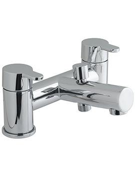 Sense Deck Mounted 2 Hole Bath Shower Mixer Tap - SEN-130