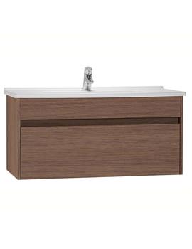 VitrA S50 Oak 1000mm Washbasin Unit - 54744