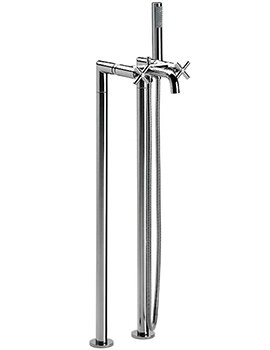 Loft Floor-Standing Bath Shower Mixer Tap With Kit - 5A2743C00