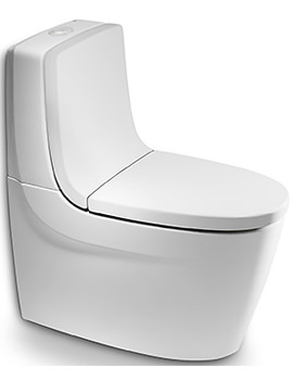 Roca Khroma Close Coupled WC Pan White 700mm - 342657000