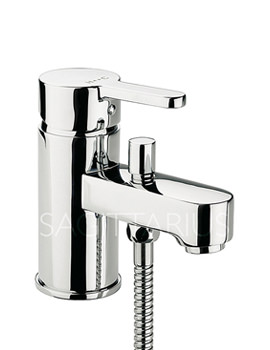 Plaza Monobloc Bath Shower Mixer Tap With Kit