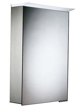 Viper 400 x 600mm Illuminated Cabinet - VI40AL