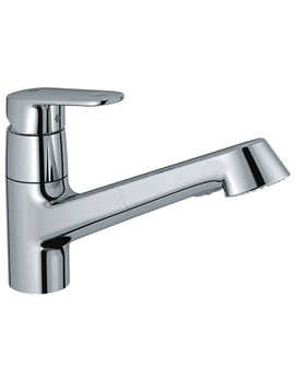 Europlus Chrome Low Spout Sink Mixer Tap - 32942002