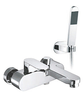 Life Exposed Wall Mounted Bath Shower Mixer Tap - LIF-123+K