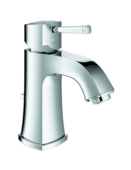 Grohe Spa Grandera Chrome Basin Mixer Tap With Pop Up Waste