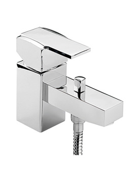 Turn Me On Mono Bath Shower Mixer Tap With Shower Kit