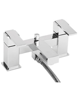 Turn Me On Pillar Mounted Bath Shower Mixer Tap With Kit