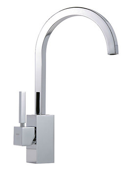 Domino Mono Sink Mixer Tap Chrome - Domino-093