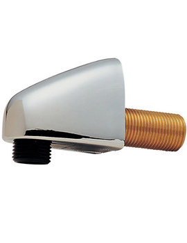 ABS Shower Wall Outlet Chrome - 819