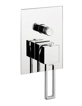 Related Crosswater Zest Recessed Manual Shower Valve With Diverter