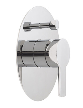 Related Vado Soho Wall Mounted Concealed Shower Valve With Diverter