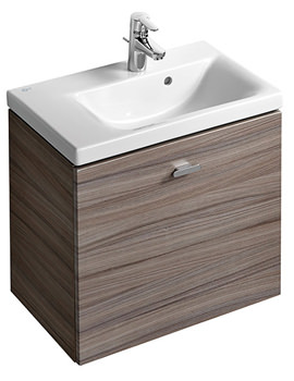 Related Ideal Standard Concept Space 600mm Wall Hung Unit And LH Platform Basin