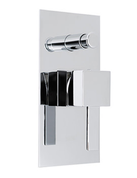 Te Concealed Single Lever Shower Mixer With Diverter - TE-147
