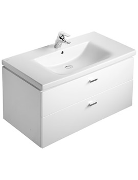 Ideal Standard Concept 1000mm Vanity Unit With Drawers - E6510WG
