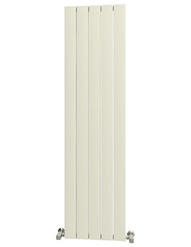 Reina Savona Vertical Radiator 375 x 1800mm White Finish - A-SV418W