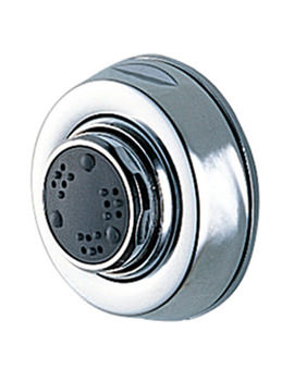Lecco Shower Body Jet Chrome - 1358A