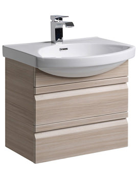 Profile Pale 600mm Wall Mounted Unit Including Basin