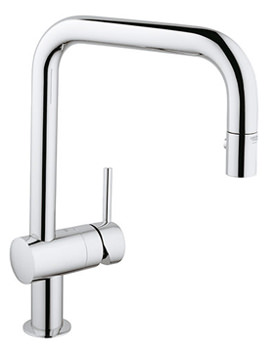 Minta Swivel Tubular Spout Sink Mixer Tap - 32322000