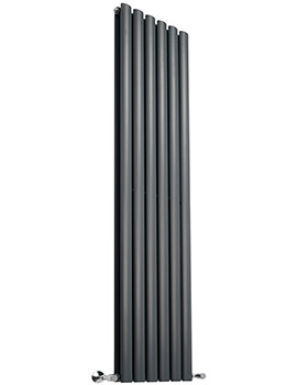 354 x 1800mm Double Panel Vertical Designer Radiator Anthracite