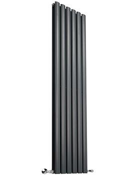 354 x 1800mm Double Panel Vertical Designer Radiator Anthracite