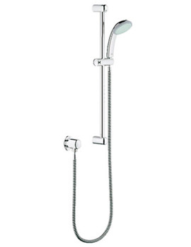Related Grohe Tempesta Duo Wall Mounted Slide Rail Kit With Union - 28500003
