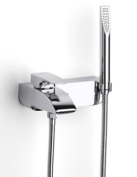 Thesis Wall Mounted Bath Shower Mixer Tap With Kit - 5A0150C00