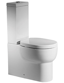 Zest Close Coupled WC Pan With Cistern And Seat