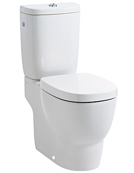 Mimo Close Coupled Floor Standing WC With Cistern 660mm