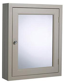 Hampton Mocha 565mm Mirror Cabinet - HAMCAB.MC