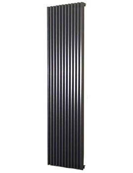Bassano Vertical Single 300 x 1800mm Designer Radiator White