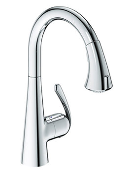 Related Grohe Zedra Chrome Monobloc Sink Mixer Tap - 32294 000