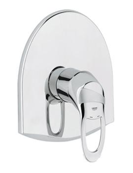 Chiara Shower Mixer Trim With Rapido E - 19156000