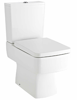 Related Lauren Bliss Short Projection Close Coupled WC And Cistern With Seat