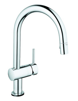 Related Grohe Minta Touch Electronic Single Lever Pull Out Spray Kitchen Tap