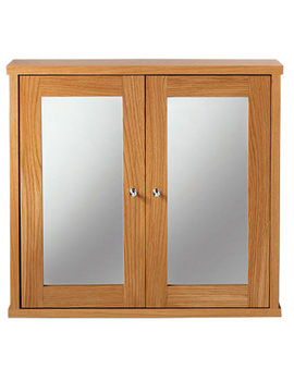 Related Imperial Linea Mirror Wall Cabinet Natural Oak Finish - XG34WCM020