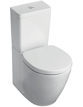 Related Ideal Standard Concept Space Compact Close Coupled Or Back-To-Wall WC